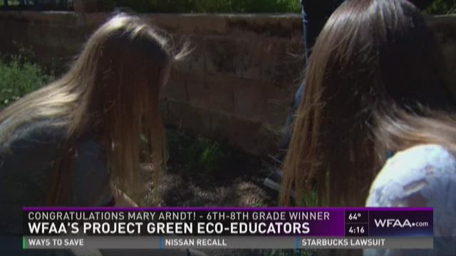 Project Green: 6th-8th grade winner