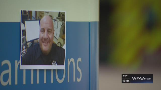 Officer describes saying goodbye to brother in blue