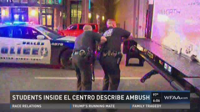El Centro College still a crime scene