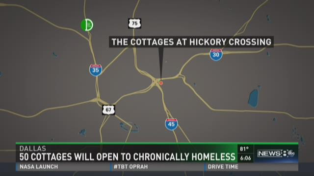 Cottages Will Open For Chronically Homeless WFAAcom - Chronic homelessness across the us map