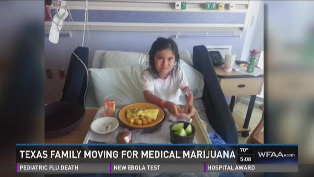 Alexis Bortell, 9, is no longer healthy enough to wait on lawmakers in Austin to act on medical cannabis. She will leave Texas for Colorado on Monday where she will begin receiving cannabis oil.