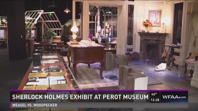 Sneak peek: Sherlock Holmes exhibit at Perot Museum
