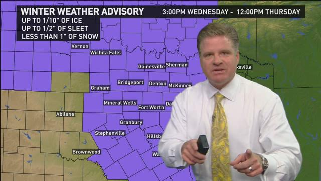 Get ready for more rain, more sleet, and some very cold temperatures. Chief Meteorologist Pete Delkus has an update recorded at 10 p.m. Tuesday.