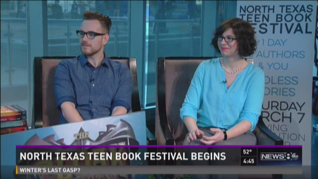 North Texas teen book festival begins