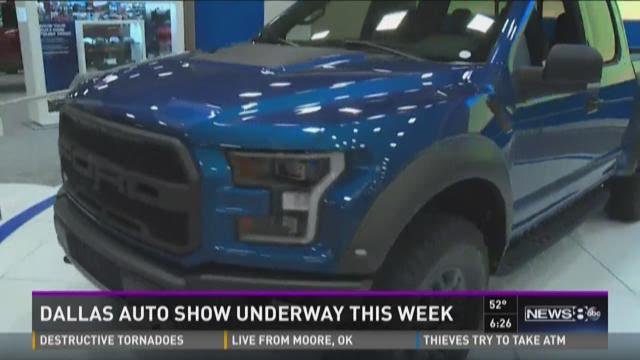 Dallas Auto Show underway this week