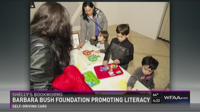 Shelly's Bookworms: Barbara Bush Foundation promoting literacy