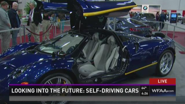 Looking into the future: Self-driving cars