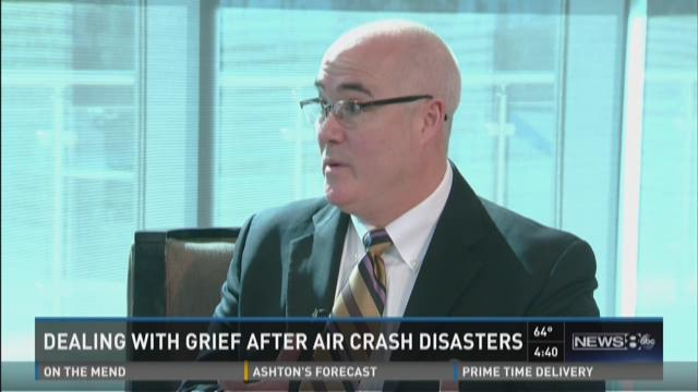 Dealing with grief after air crash disasters