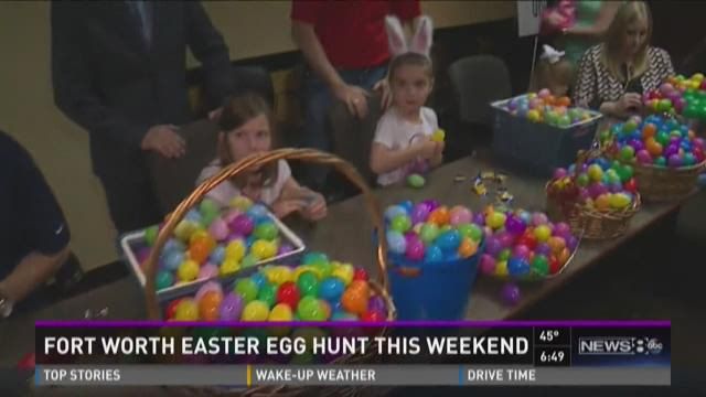 Fort Worth Easter Egg Hunt this weekend