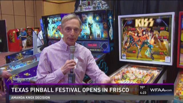 Texas Pinball Festival opens in Frisco
