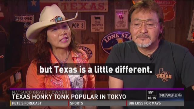 Texas honky tonk popular in Tokyo