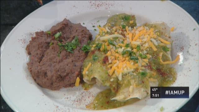 Daybreak recipe: Salsa verde enchiladas