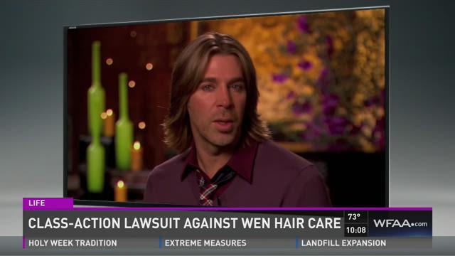Class-action lawsuit against WEN hair care