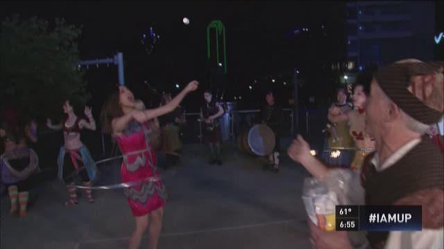 ICYMI: Alexa hula hoops, catches marshmallow