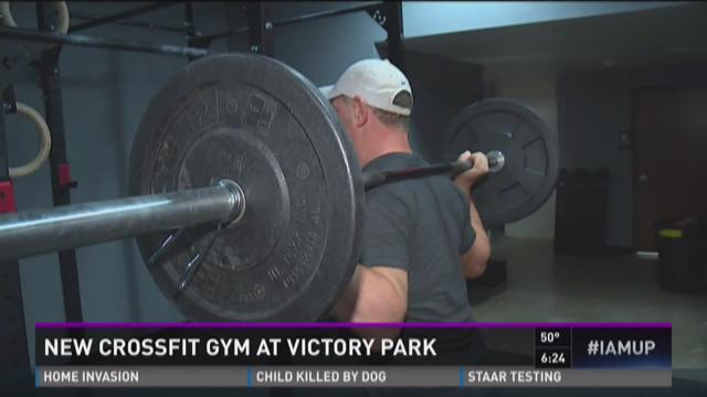 New CrossFit at Victory Park