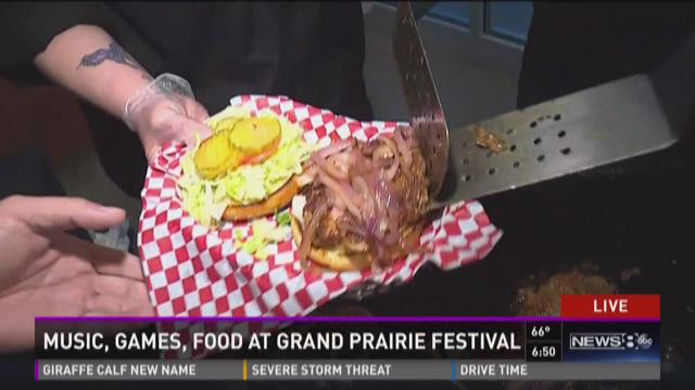 Music, food and fun at Grand Prairie festival