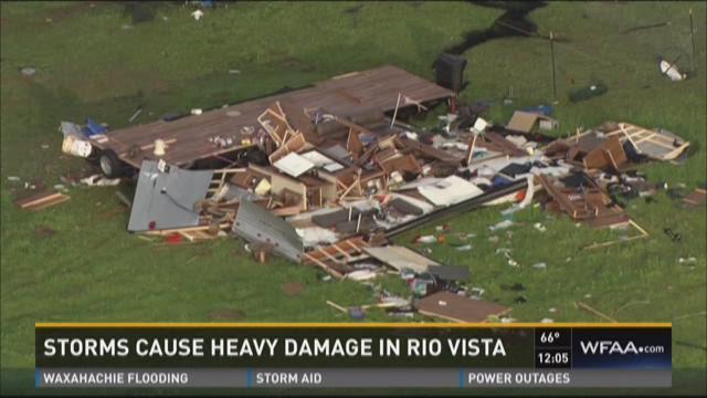 Storms cause heavy damage in Rio Vista