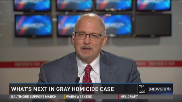 What's next in Gray homicide case?