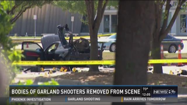 Team coverage: Garland shooting