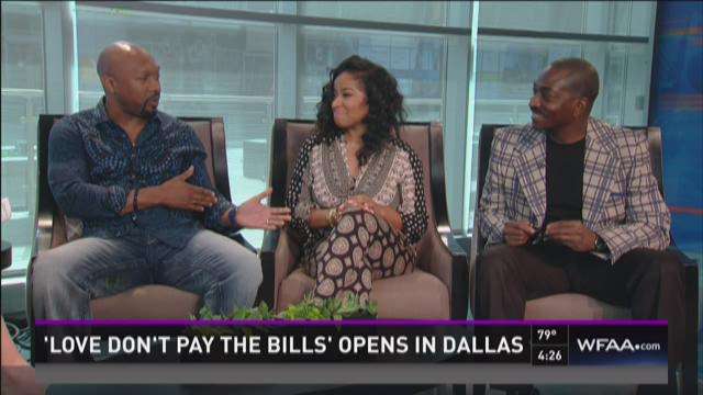 Stars of 'Love Don't Pay the Bills' join News 8 at 4