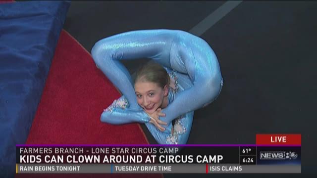 Sneak peek: Kids clown around at circus camp