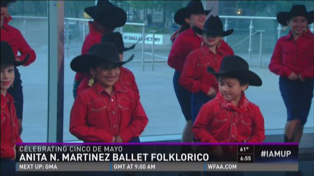 Martinez Ballet Folklorico celebrates Cinco de Mayo