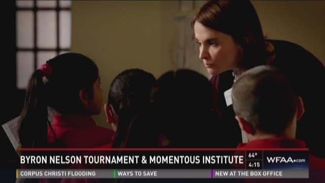 Byron Nelson Tournament & Momentous Institute