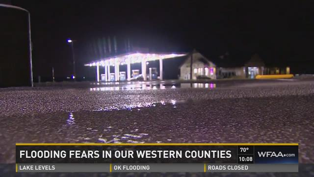 Philip Townsend reports from Wise County, which was bracing to be inundated by a new round of rainfall.