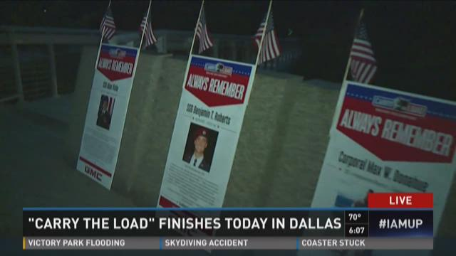 'Carry the Load' finishes in Dallas