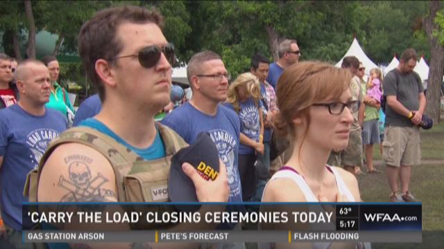 Carry the Load closing ceremonies