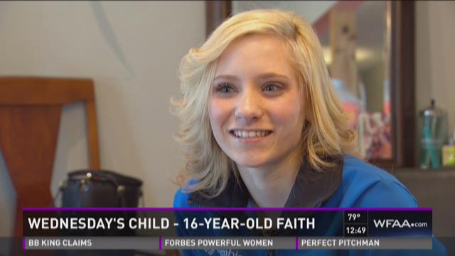 Wednesday's Child: Meet Faith