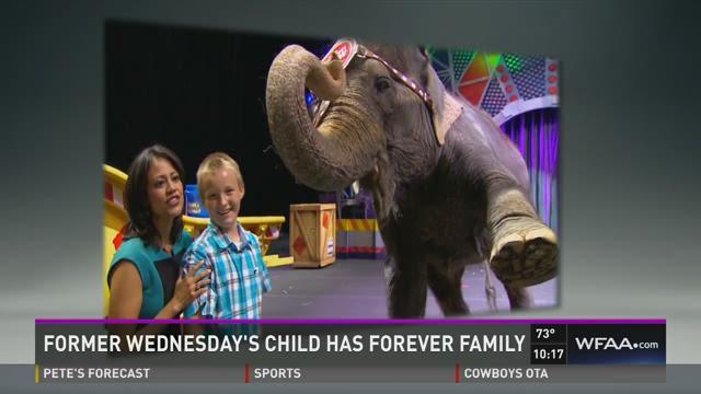 Former Wednesday's Child has forever family