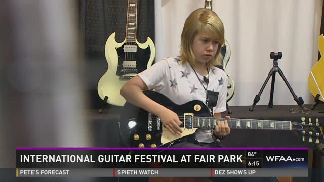 International guitar festival at Fair Park