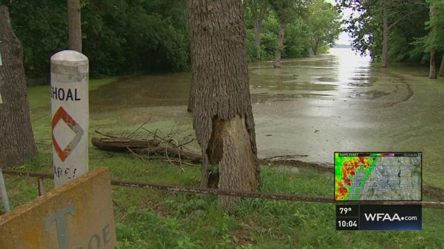 Residents keep close watch on Lake Lewisville