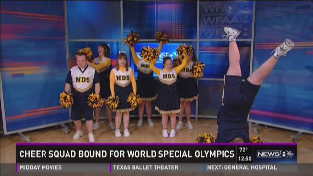 Cheer squad bound for World Special Olympics