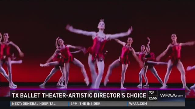 Texas Ballet Theater performing 'Artistic Director's Choice'