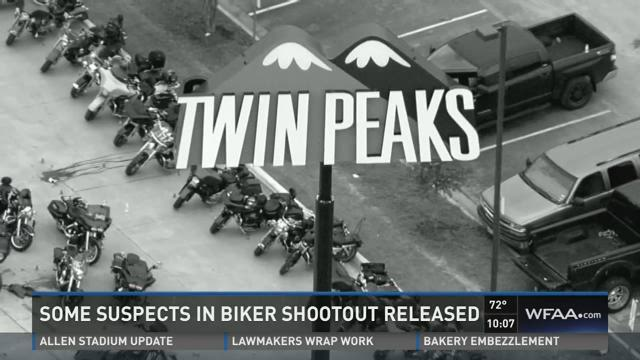 Suspects in Waco biker shootout released