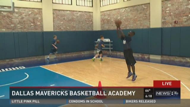 Dallas Mavs host basketball academy