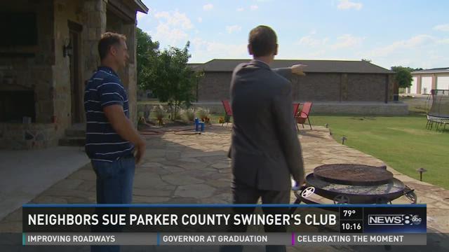 Neighbors sue Parker County swingers club