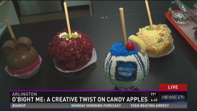 O'Bight Me: Creative twist on candy apples