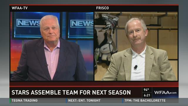 Stars GM talks hockey with Dale