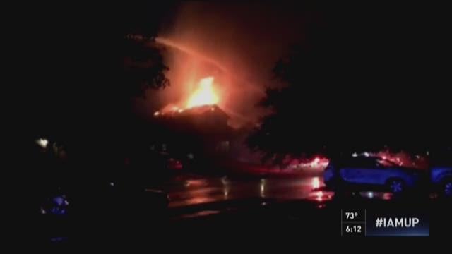 Lightning sparks Seagoville house fire