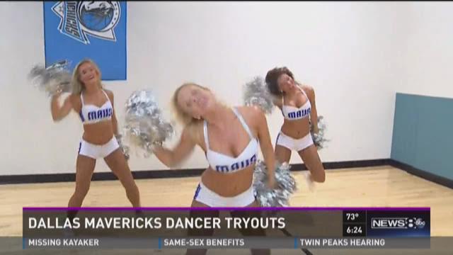 Sneak Peek: Dallas Mavericks dancer tryouts