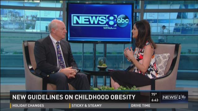 Pediatrician reacts to new guidelines on childhood obesity