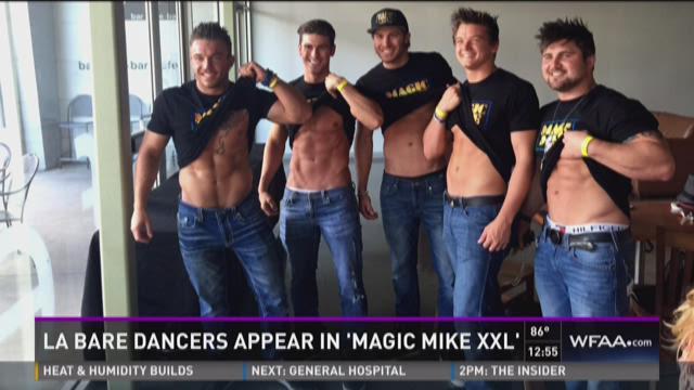 La Bare dancers appear in 'Magic Mike XXL'