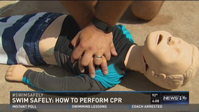 Swim safely: How to perform CPR