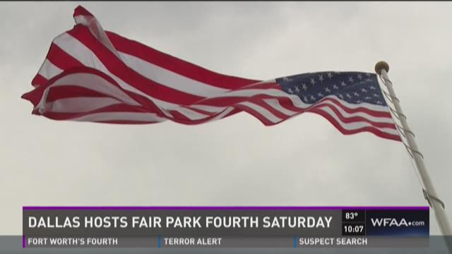 Dallas hosts Fair Park Fourth Saturday