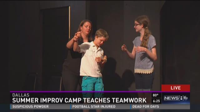 Summer improv camp teaches teamwork