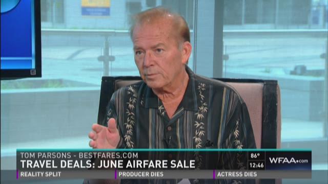 Tom Parsons travel deals