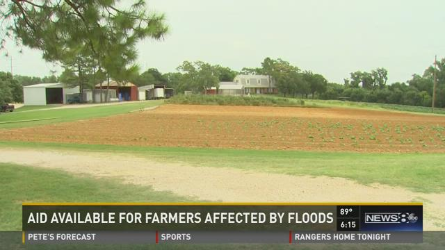 Aid available for flooded farms